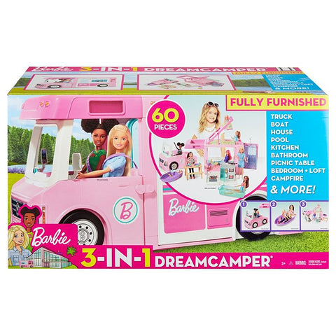 Barbie 3-in-1 DreamCamper Vehicle