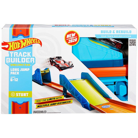Hot Wheels Track Builder Long Jump Pack