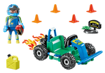 Playmobil City Life Go-Kart Racer Gift Set