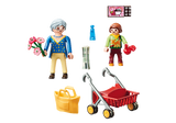 Playmobil City Life Grandmother with Child