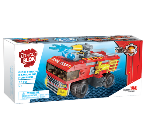 Dragon Blok Fire Rescue - Fire Truck (2 of 8)