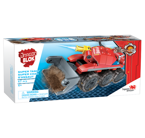 Dragon Blok Fire Rescue - Super Tank (6 of 8)