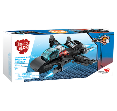 Dragon Blok Police Rescue - Combat Aircraft (1 of 8)
