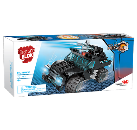 Dragon Blok Police Rescue - Humvee (2 of 8)