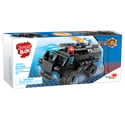 Dragon Blok Police Rescue - Tank (3 of 8)