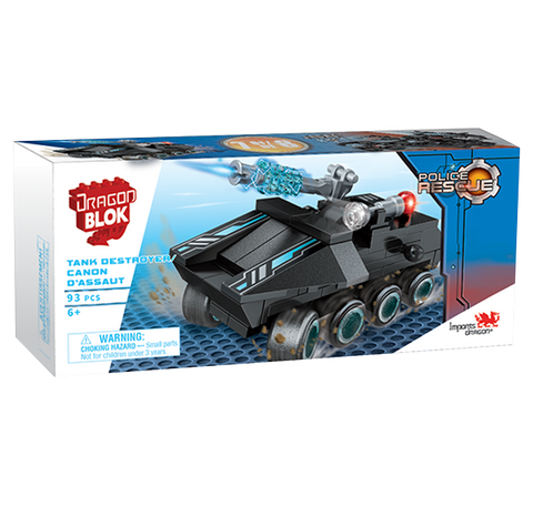 Dragon Blok Police Rescue - Tank Destroyer (7 of 8)