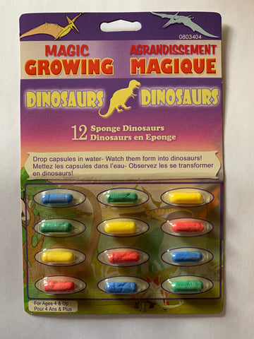 Magic Growing Sponge Animals - Dinosaurs