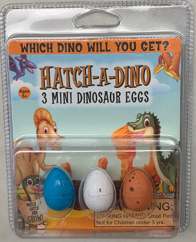 Hatch-A-Dino Mini Dinosaur Eggs