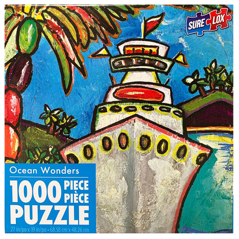 Sure-Lox Colors of Cruising 1000 Piece Puzzle