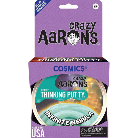 Crazy Aaron's Infinite Nebula Cosmic Thinking Putty