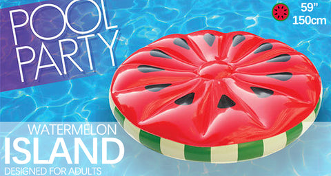 Inflatable Watermelon Island Float