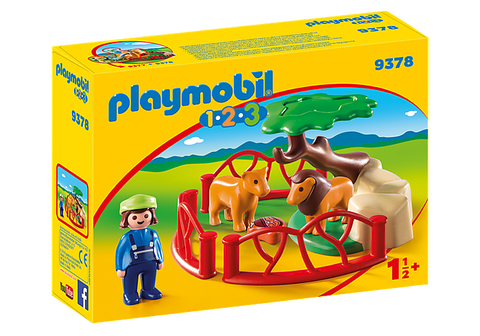Playmobil Lion Enclosure