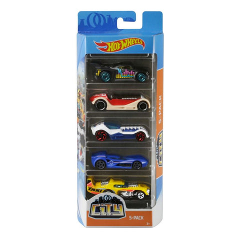 Hot Wheels 5 Pack - Assorted Styles