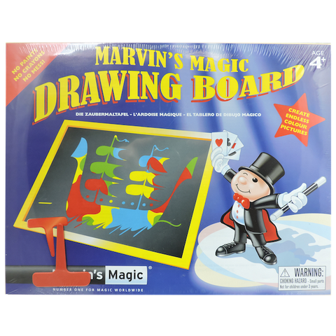 Marvin's Magic Drawing Board