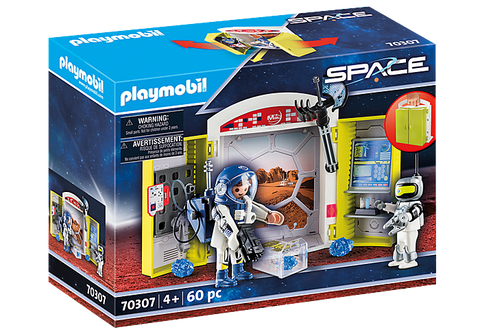 Playmobil Space Mars Mission Play Box