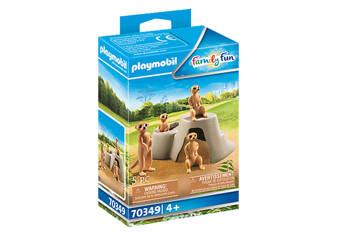 Playmobil Family Fun Meerkat Colony