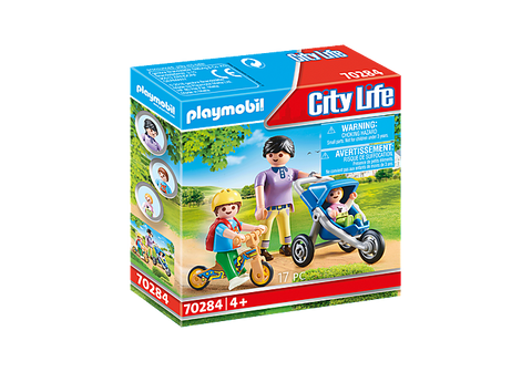 Playmobil City Life Mother with Children