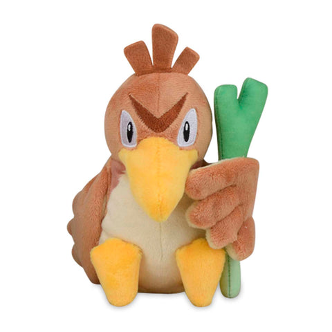 Pokemon Farfetch'd Plush Stuffed Animal 8""