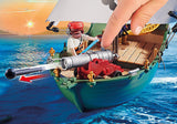 Playmobil Pirate Ship with Underwater Motor