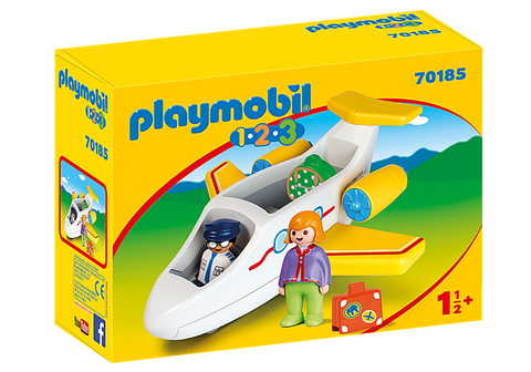 Playmobil Plane with Passenger