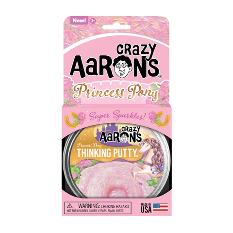 Crazy Aaron's Trendsetters Princess Pony Thinking Putty