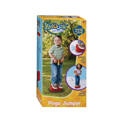 Kidoozie Hop and Squeak Pogo Jumper