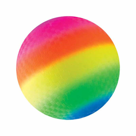 Rainbow Playground Ball 9""