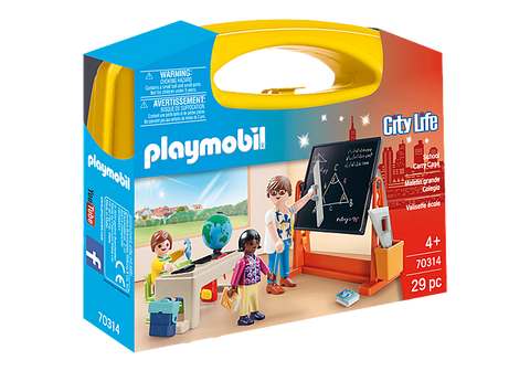 Playmobil City Life School Carry Case