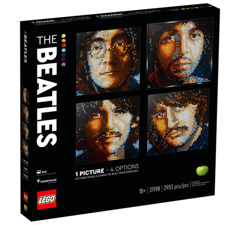 Lego Art: The Beatles
