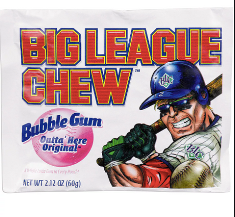 Big League Chew Original Bubble Gum