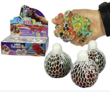 Mesh Bead Squeeze Ball