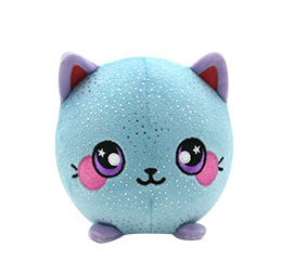 "Squeezamals Series 4 Cassidy the Cat 3.5"" Scented Plush"
