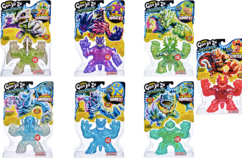 Goo Jit Zu Heroes Dino X-Ray Series 4 Assorted