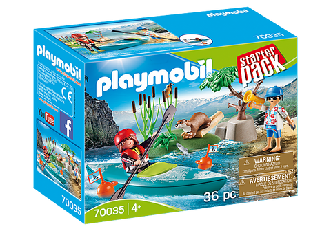 Playmobil StarterPack Kayak Adventure