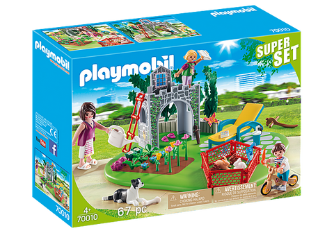 Playmobil SuperSet Family Garden