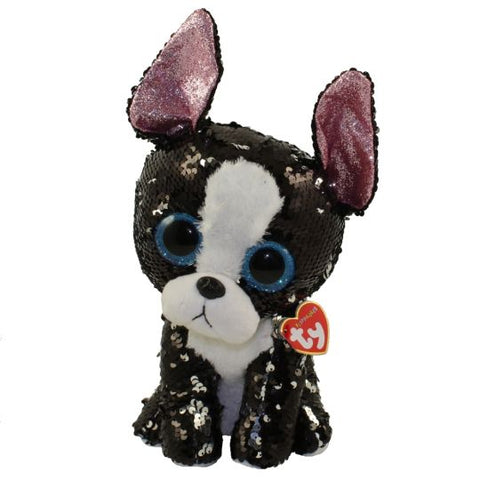 Ty Flippables Portia Sequin Terrier 5""