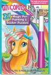 2in1 Magic Pen Painting & Sticker Puzzles - Unicorns