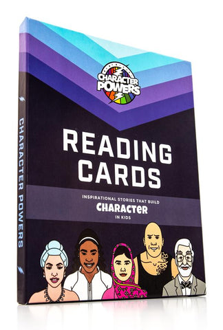 Reading Cards Character Powers