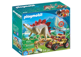 Playmobil Vehicle With Stegosaurus