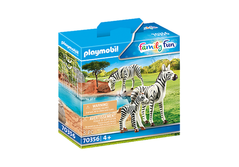 Playmobil Family Fun Zebras with Foal