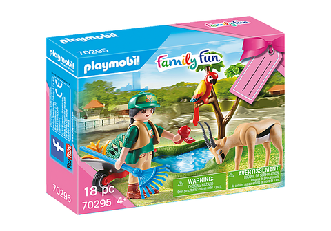 Playmobil Family Fun Zoo Gift Set