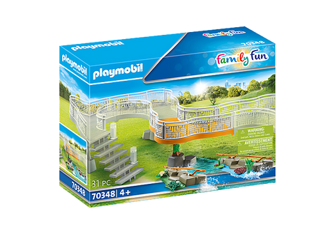 Playmobil Family Fun Zoo Viewing Platform Extension