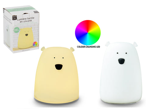 LED Silicone Touch Light - Polar Bear