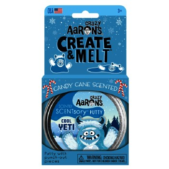 Crazy Aaron's Cool Yeti SCENTsory Thinking Putty
