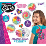 Shimmer and Sparkle Make Your Own Rainbow Lip Gloss