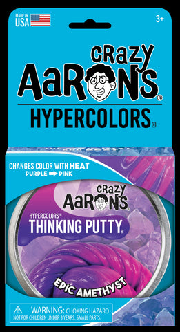 Crazy Aaron's Epic Amethyst Hypercolour Thinking Putty