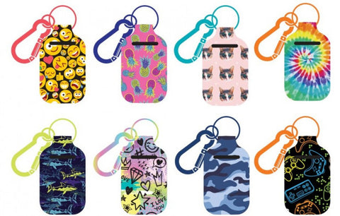 Kids Hand Sanitizer Case with Carabiner