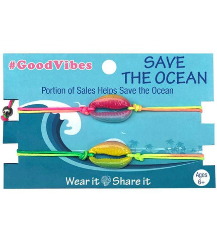 Save the Ocean Friendship Bracelets