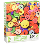 Ceaco Photography Buttons 550 Piece Puzzle
