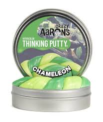 Crazy Aaron's Chameleon Heat Sensitive Hypercolour Thinking Putty